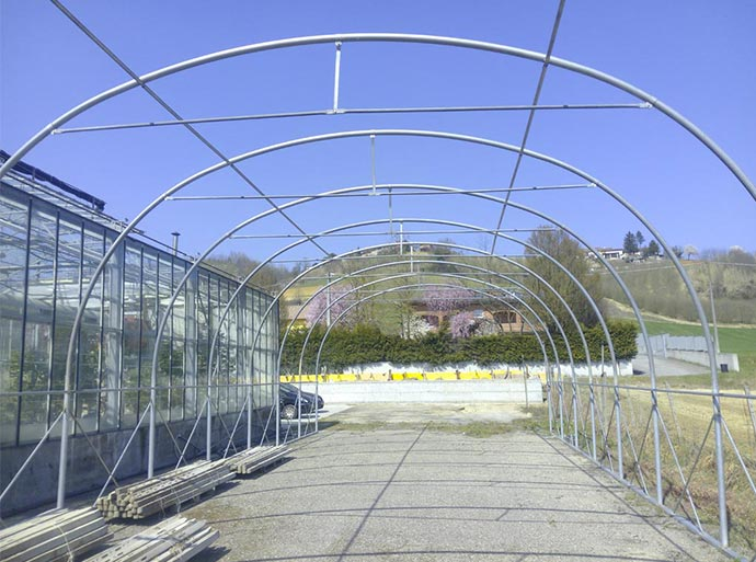 Tunnel greenhouse